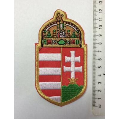 12cm hímzett címer felvarró